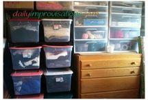 ORGANISING SEWING ROOM
