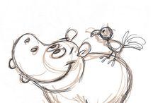 süße Zeichnungen