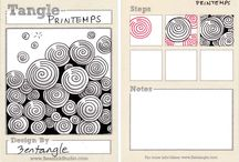 Zentangle patterns  / by creajettie