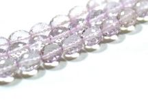 Natural Amethyst Faceted Beads / Buy online Amethyst Beads from ExploreBeads- best quality Green Amethyst Faceted beads, Briolette cut, AAA grade. Order now for best deal.