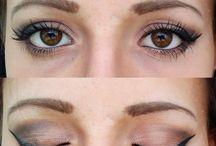 Makijaż / Moje amatorskie makijaże. Po więcej zapraszam na http://whisperyourlove.blogspot.com