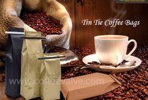 Tin Tie Coffee Bags / We have been exporting and supplying premium quality #TinTieCoffeeBags, which are manufactured by using excellent quality materials and advanced technology. We offer a qualitative range of #TinTieCoffeeBags with Valve with stock and custom printed selections as per the given specifications of our clients. http://www.coffeevalve.com/tin_tie_coffee_bags.htm