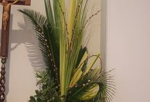 Palm Sunday floral& decorating