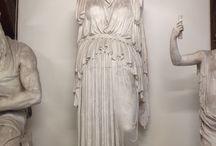 Kvinder / Kvinde statuer