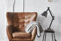Vintage Chairs for your interior / Stylish seating in vintage retro flair