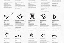 Footprints of Things / Whether for a project we started working on, or just out of curiosity, we find it interesting to put together the footprints of architectural elements of the same category.