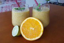 Koktajle / Owoce i warzywne koktajle, odświeżające, dodające energii, poprawiające samopoczucie