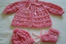 casaquinho de trico rosa