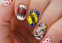 Pop nail art