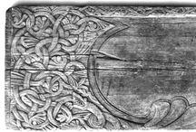 Medieval woodcarving