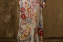 Fashion  / I love bohemian style clothes and florals !