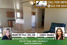 SOLD! Perfect Rectangle Lot In Cul De Sac Community / 36411 W Victory Street, Tonopah, AZ 85354 2 Bed | 1 Bath | 988 Square Feet