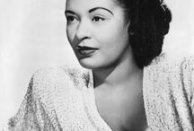 AFRIC AMER: Billie Holliday / by Paula Sanders
