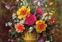 ART Nature morte avec fleurs