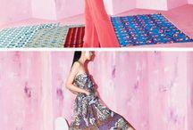 Färger och mönster