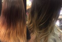 Before And After / Hair Color