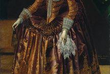 XVII robes / 17th century dress