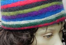Felt Hats and Bags / Funky felt hats and bags made in Nepal