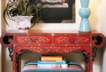 Feng shui fire element interiors