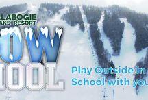 Snow School / Skiing and Snowboarding Snow School at Calabogie Peaks