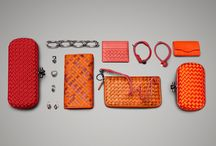 ADORN YOURSELF / Brighten the season with a vibrant selection of Knots, jewelry and wallets. Designed to elevate, these pieces complete your look and are guaranteed to glisten