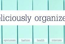 ORGANIZATION AND STORAGE / by Lori Jackson
