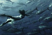 Debaixo d'água... / outra dimensão!
