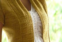 Knitting & Crochet / Vests and all sorts of clothing in crochet, tricot and fabric / by Elsa Towers