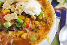 Taco soup / Food