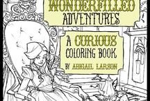 Coloring Books for Cool Kids [Adults] / The coloring books we wish we had as kids!