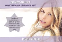 FALL SPECIALS / Get $100 OFF Botox! Our lowest prices of the year!  Call us TODAY to reserve your special: (469) 608-0888   Here's the full list of all of our fabulous specials: http://parkcitiesfillers.com/specials/