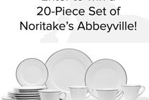 Noritake's Abbeyville China / by roxane honey