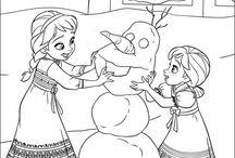 Frozen Ria. / frozen