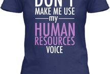 HR Lady / Human Resources / by Elizabeth Marks
