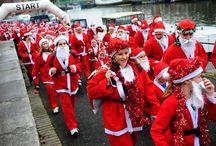 Bristol Santas on the Run 2015 / Photos from Bristol's Santas on the Run event.