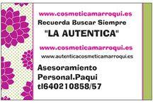 AUTENTICACOSMETICAMARROQUI.ES   / www.autenticacosmeticamarroqui.es PAQUI ROMERO 951253336-640210858
