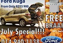 July Specials / Ford , Mazda , Volvo & Land Rover Specials this July at Leons Motors Rustenburg