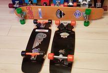 Skateboard vintage fibreflex collection