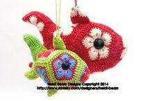 African flower crochet / Crochet