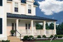 Columns / Everyone can appreciate the classical look of columns. Elegant style built to stand the test of time.