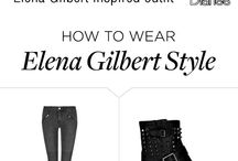 Elena Gilbert outfits