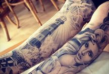Leg sleave tatts / Inspiration for the completion of my leg sleave
