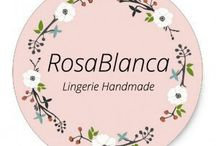 RosaBlancaLingerie / Lingerie Hand Made in Italy
