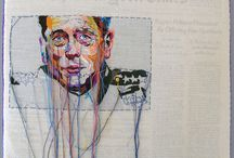 Art - Embroidery - Illustration