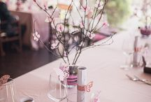 My cherry blossom wedding theme / cherry blossom wedding ideas
