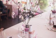 My cherry blossom wedding theme / cherry blossom wedding ideas