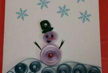 tarjetas navideñas quilling