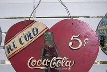 The Real Thing / Anything vintage Coca-Cola / by Francie Rogers