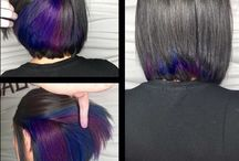 Hair Color for the Artist Side / Colorful hair for my artist side