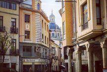 Streets of Salamanca / Postales urbanas de Salamanca